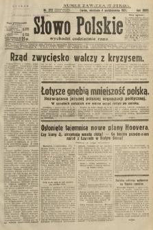 Słowo Polskie. 1931, nr272