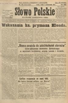 Słowo Polskie. 1931, nr275