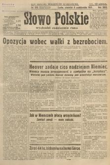 Słowo Polskie. 1931, nr276