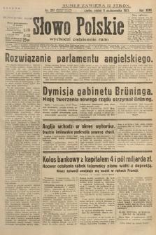 Słowo Polskie. 1931, nr277