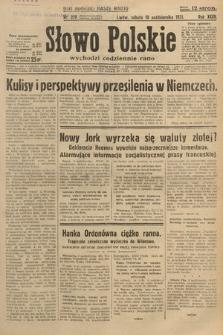 Słowo Polskie. 1931, nr278