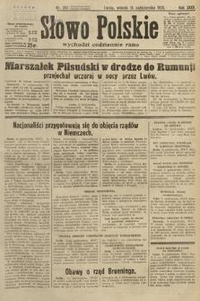 Słowo Polskie. 1931, nr281