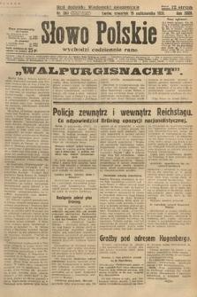 Słowo Polskie. 1931, nr283