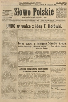 Słowo Polskie. 1931, nr286