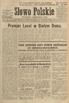 Słowo Polskie. 1931, nr294
