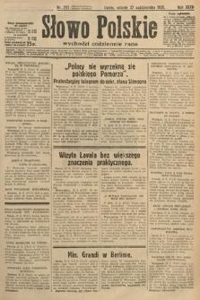 Słowo Polskie. 1931, nr295
