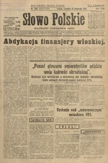 Słowo Polskie. 1931, nr306