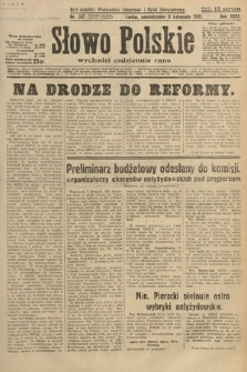 Słowo Polskie. 1931, nr307