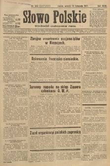 Słowo Polskie. 1931, nr308