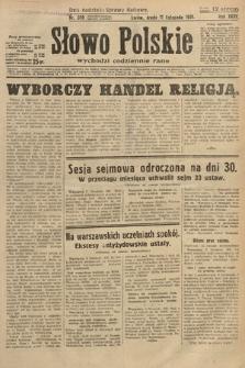 Słowo Polskie. 1931, nr309