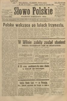 Słowo Polskie. 1931, nr310