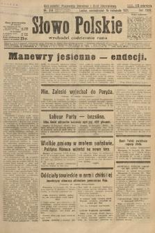 Słowo Polskie. 1931, nr314