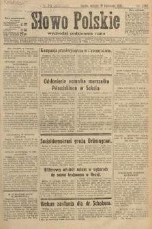 Słowo Polskie. 1931, nr315