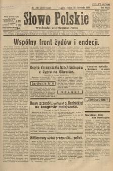 Słowo Polskie. 1931, nr318