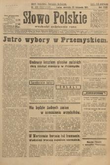Słowo Polskie. 1931, nr320