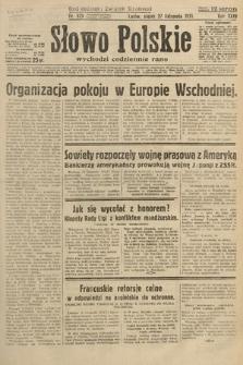 Słowo Polskie. 1931, nr325