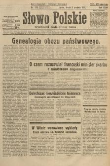 Słowo Polskie. 1931, nr330