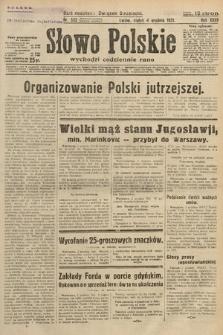 Słowo Polskie. 1931, nr332