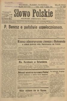 Słowo Polskie. 1931, nr333