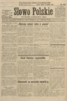 Słowo Polskie. 1931, nr336
