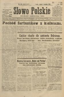 Słowo Polskie. 1931, nr337