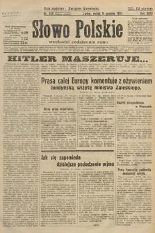 Słowo Polskie. 1931, nr339