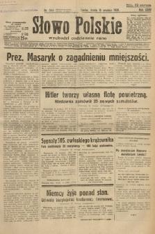 Słowo Polskie. 1931, nr344