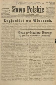 Słowo Polskie. 1931, nr345