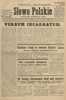 Słowo Polskie. 1931, nr354