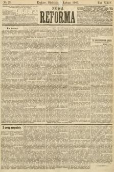 Nowa Reforma. 1905, nr29