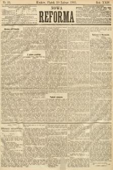 Nowa Reforma. 1905, nr33