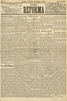Nowa Reforma. 1905, nr45