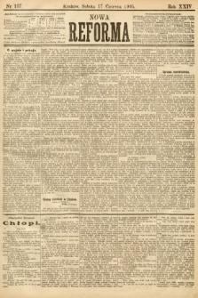 Nowa Reforma. 1905, nr137