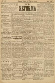 Nowa Reforma. 1905, nr145