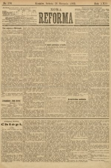 Nowa Reforma. 1905, nr194