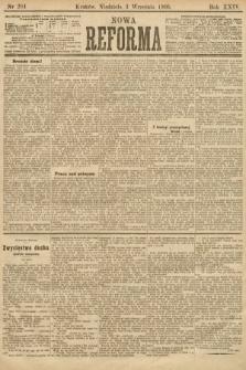 Nowa Reforma. 1905, nr201