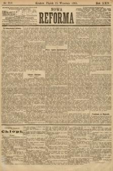 Nowa Reforma. 1905, nr210