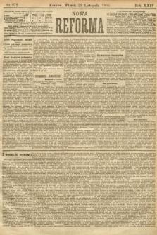 Nowa Reforma. 1905, nr272