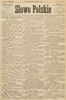 Słowo Polskie (wydanie poranne). 1899, nr152