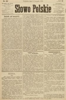 Słowo Polskie. 1899, nr263