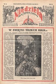 Niedziela : ilustrowany tygodnik katolicki Diecezji Częstochowskiej. 1935, nr1