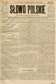 Słowo Polskie. 1896, nr236