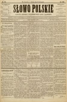 Słowo Polskie. 1896, nr270