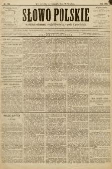 Słowo Polskie. 1896, nr288