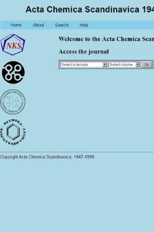 Acta Chemica Scandinavica