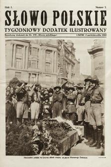 Słowo Polskie : tygodniowy dodatek ilustrowany. 1925, nr7