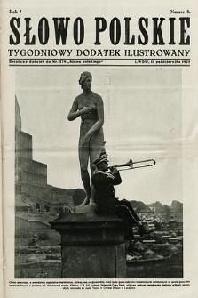Słowo Polskie : tygodniowy dodatek ilustrowany. 1925, nr8