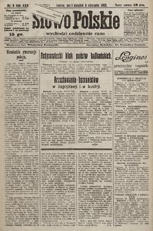 Słowo Polskie. 1925, nr4