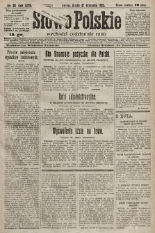 Słowo Polskie. 1925, nr20