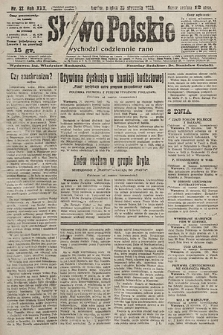 Słowo Polskie. 1925, nr22